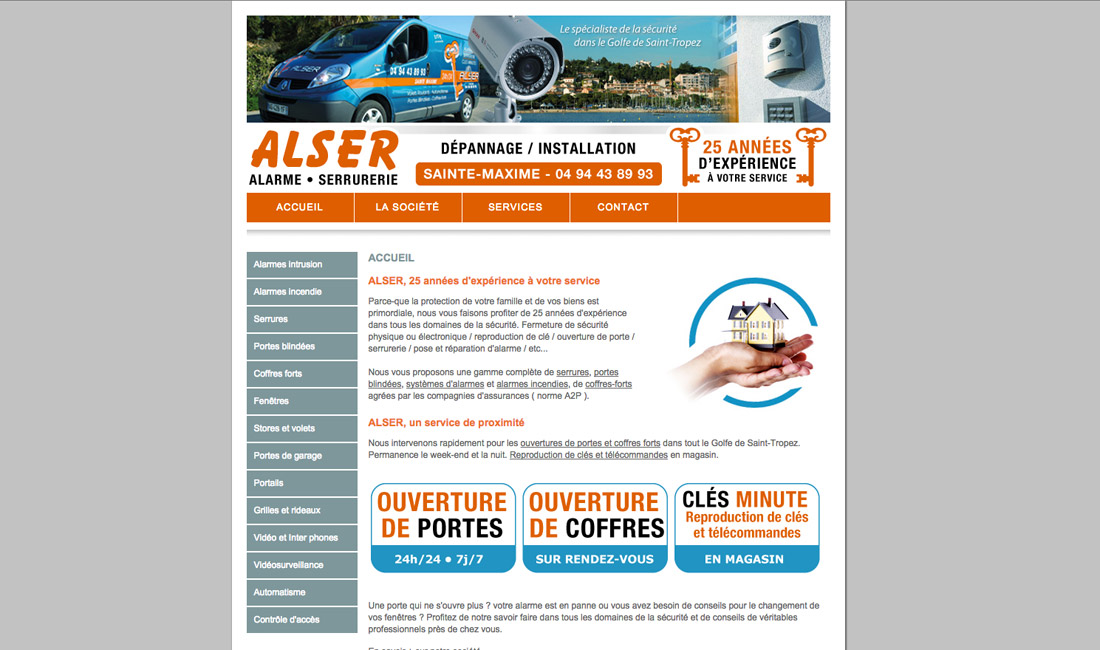 Site internet Alser-2