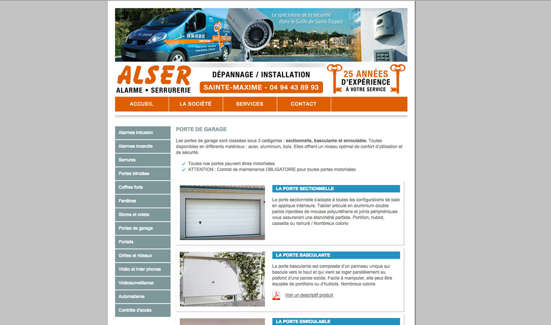 Site internet Alser-1