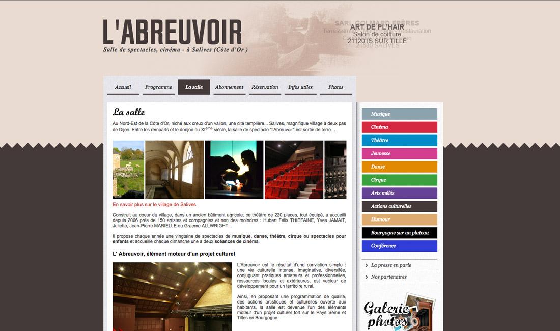 Site internet l'Abreuvoir-1