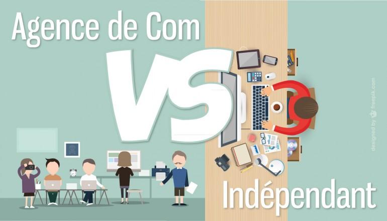 Freelance et agence de communcation