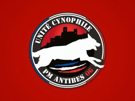création de logo unité cynophile