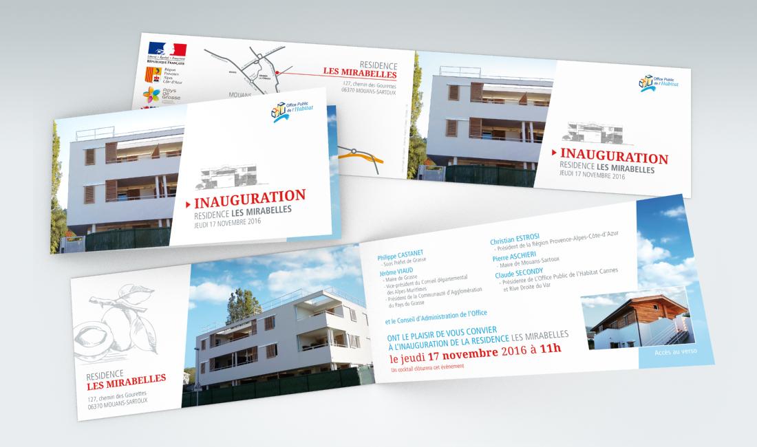 Populaire Portfolio graphiste indépendant à Cannes. FC Création CN02