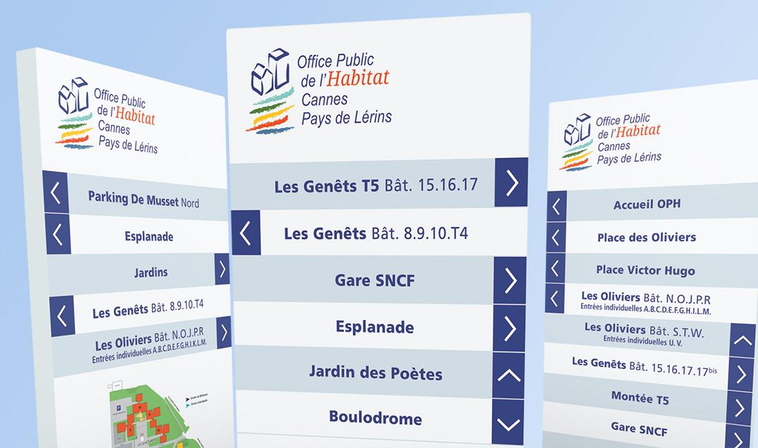 Signalétique quartier Ranguin Cannes-1