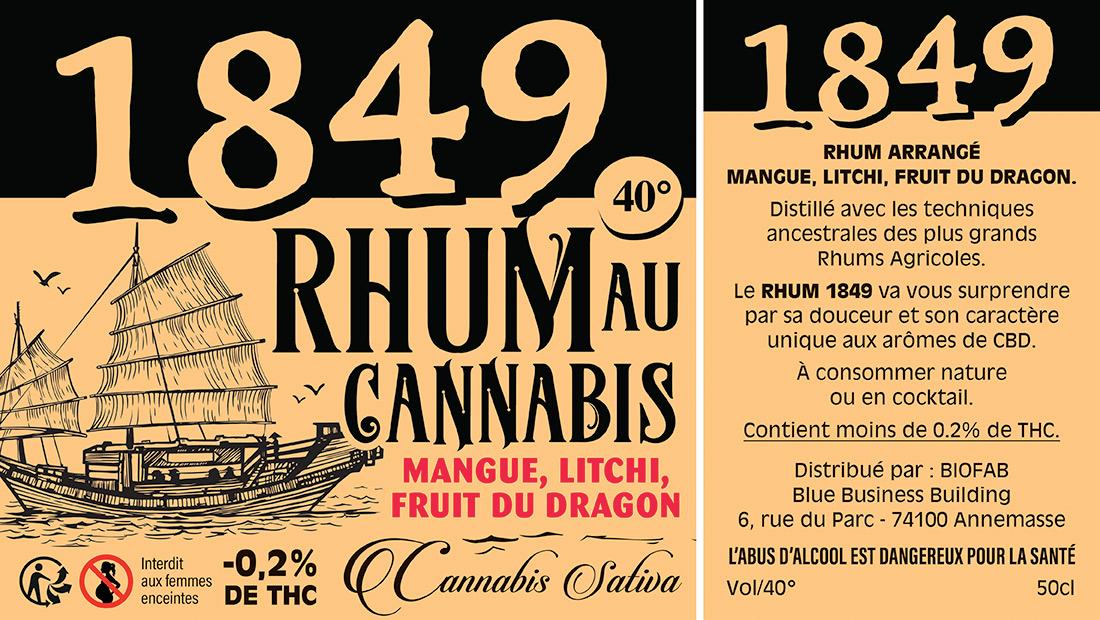 Etiquettes Rhum au CBD-2
