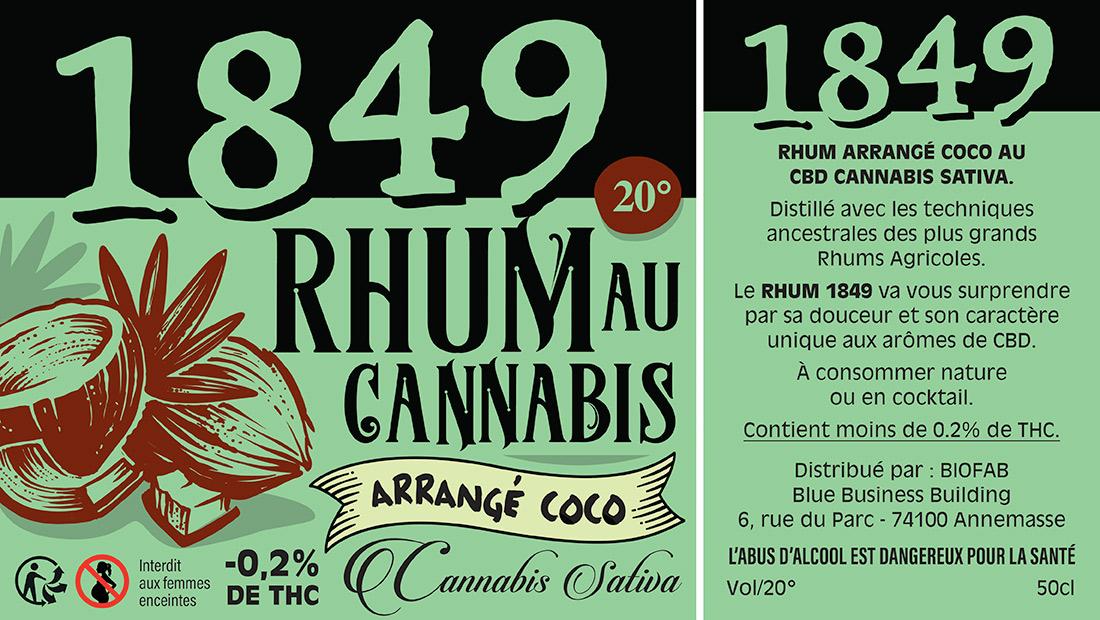 Etiquettes Rhum au CBD-3
